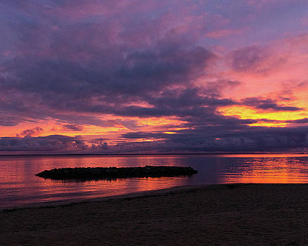 Stormy Sunset by Steve Atkinson
