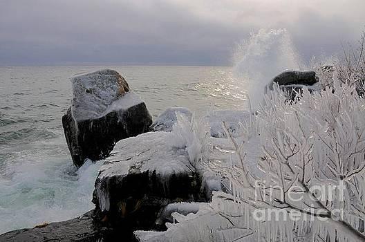 Stormy Superior by Sandra Updyke