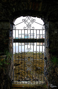 Stornoway Seaside Gate by Rasma Bertz
