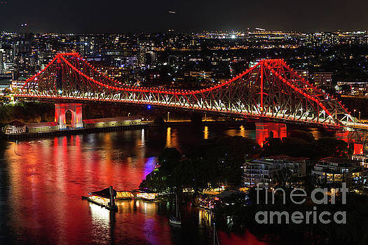Story Bridge Brisbane by Andrew Michael