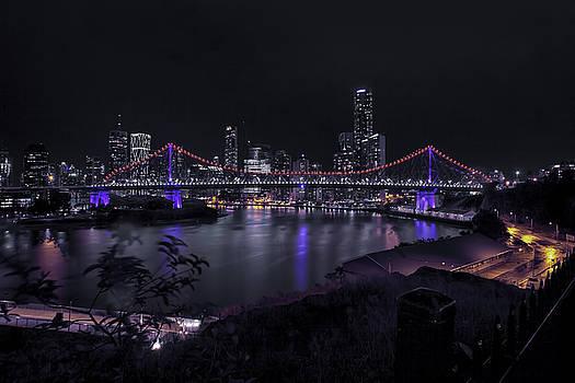 Story Bridge Reflects by Chris  Hood