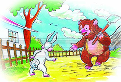 Story  Illustration by Venki Venkatesh