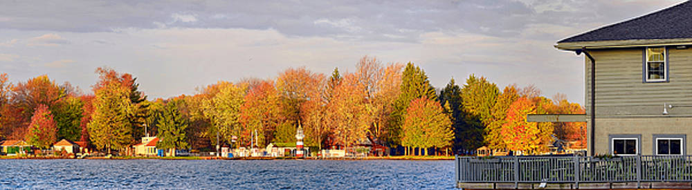Stow Ferry In Autumn by Brian Fisher