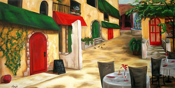 Strada al Mattino by Maryn Crawford