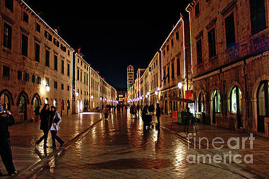 Stradun Dubrovnik by Jasna Dragun