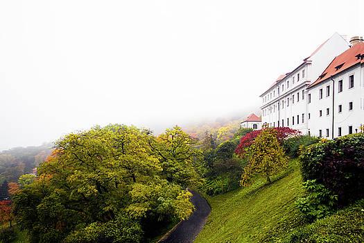 Colin Cuthbert - Strahov Monastery and Gardens in Fog