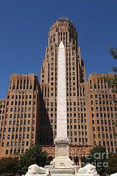 Straight UP in Buffalo New York by Tony Lee