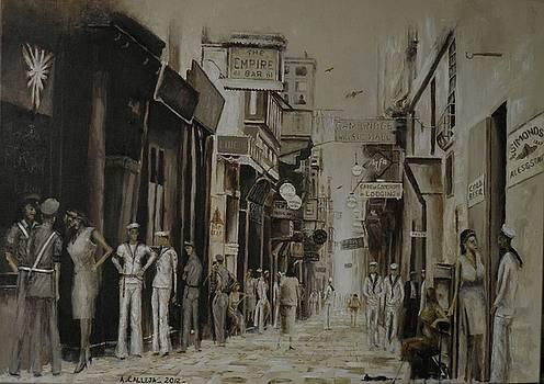 Strait Street Valletta by Tony Calleja