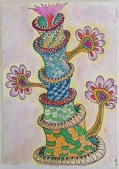 Strange flower pie by Jesus Nicolas Castanon