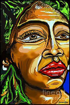 Nina Simone,Strange Fruit by Jennifer Miller