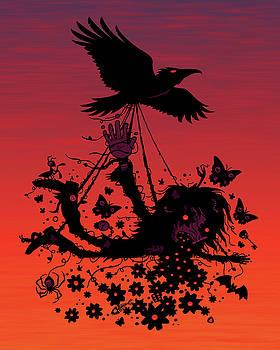 Strange Trip Through The Sky by John Schwegel