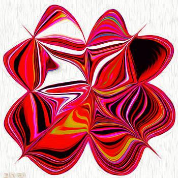 Strangely Abstractual Flower by Debra Lynch