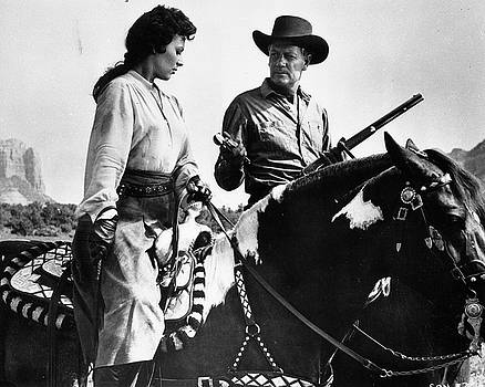 Stranger On Horseback by Bob Bradshaw