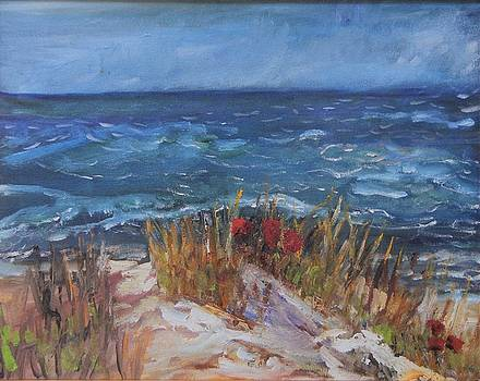 Strangers on the Shore by Michael Helfen