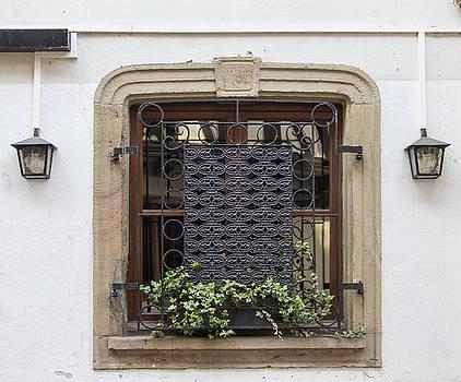 Strasbourg Window 01 by Teresa Mucha