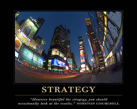 David Simchock - Strategy Motivational Quote