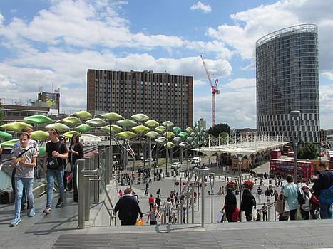 Stratford Bus Station - London by Mudiama Kammoh