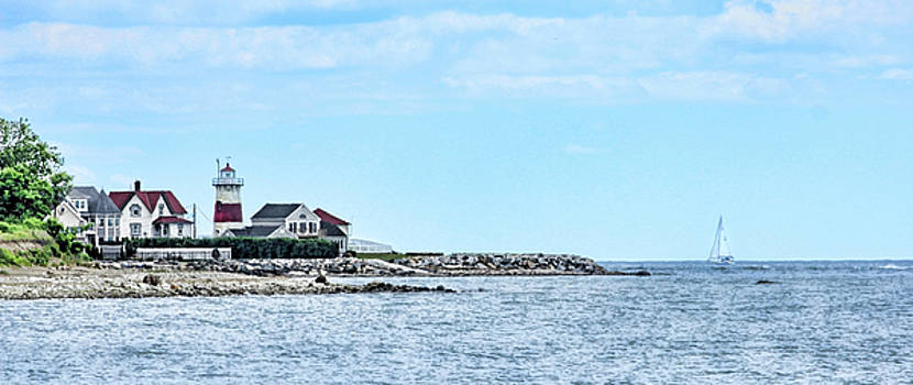 Stratford Point Lighthouse by Cathy Leite Photography