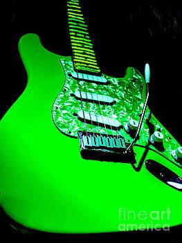 Stratocaster Plus Pop Art  by Guitar Wacky