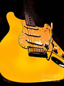 Stratocaster Pop Art  by Guitar Wacky