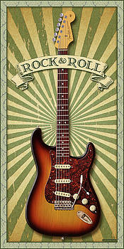 Stratocaster Rock and Roll by WB Johnston