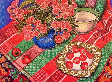 Richard Lee - Strawberries and Gum Blossom