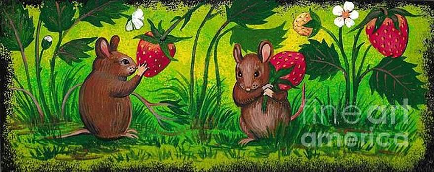 Strawberry Fields Forever by Margaryta Yermolayeva