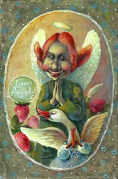 Strawberry prayer by Una Lune