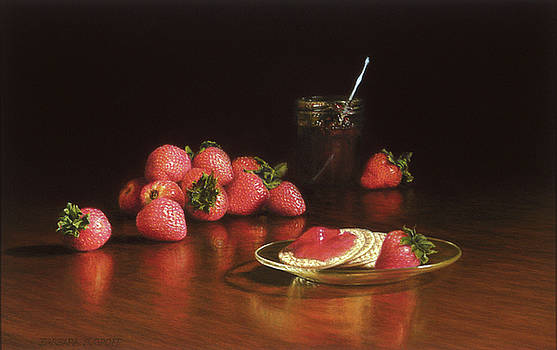 Strawberry Preserves by Barbara Groff