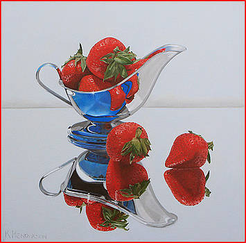 Strawberry Reflections by K Henderson