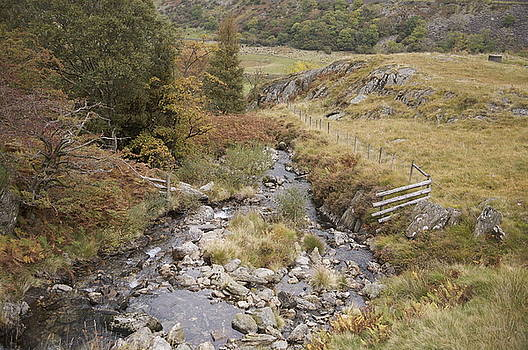 Stream in the Ogwen valley by Christopher Rowlands