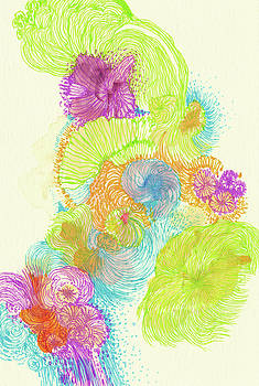 Stream - #SS18DW005 by Satomi Sugimoto