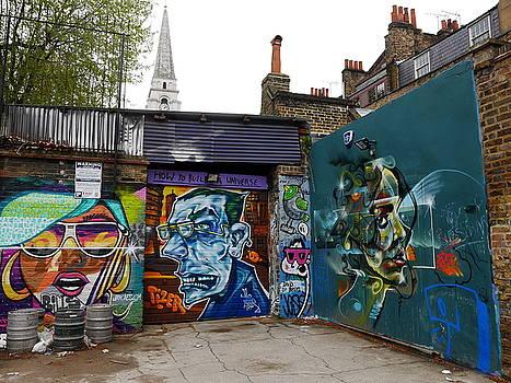 Lexa Harpell - Street Art London 2
