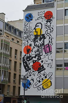 Street Art Paris by Andy Thompson