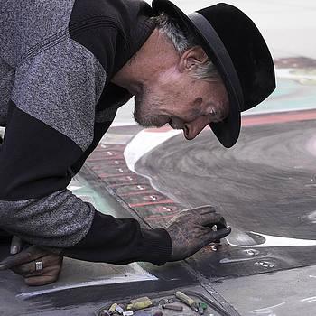 Street Artist by Wendy Chapman