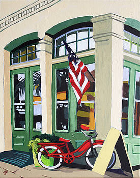 Street Bike by Melinda Patrick