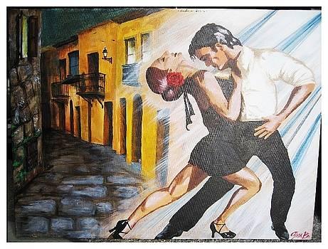 Street Dance by Gina Bocalbos
