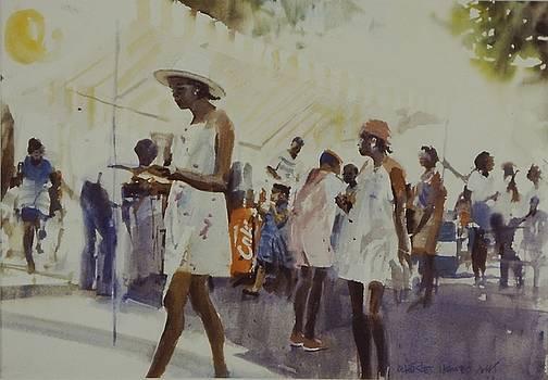 Street Fair by Charles Hawes