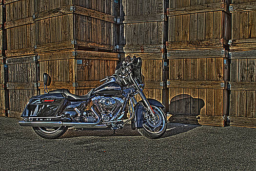 Street Glide Crated by Bennie McLendon