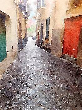 Street in Meta, Italy by Kenna Westerman