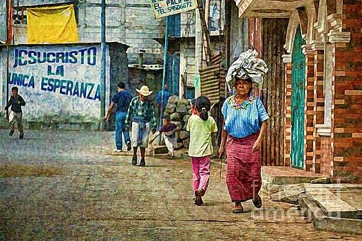 Tatiana Travelways - Street in Santiago Atitlan, Guatemala