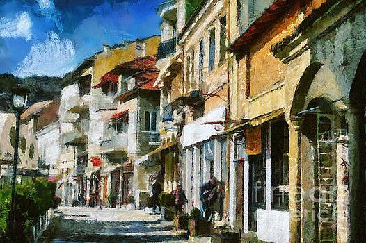Dimitar Hristov - Street in Veliko Tarnovo