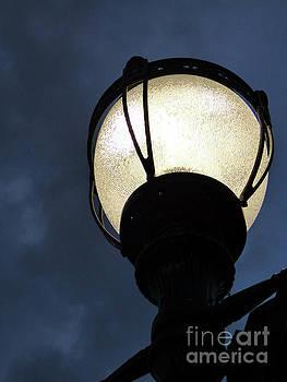 Street Lamp at Night by Leara Nicole Morris-Clark