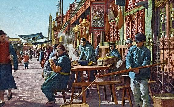 Street life of Peking, 1921 by Vintage Printery