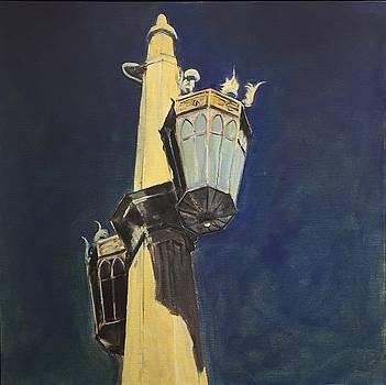 Street Light Writ Large by Richard Willson