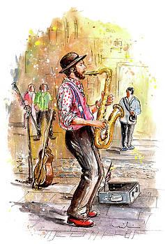 Miki De Goodaboom - Street Musician In York 01