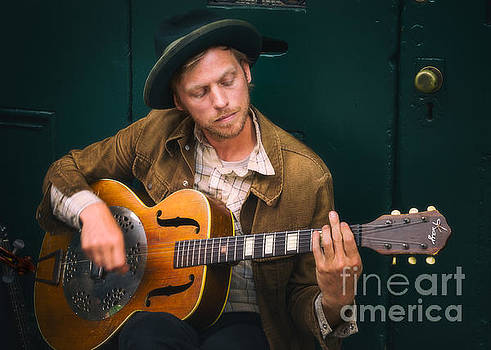 Street Musician by Jerry Fornarotto