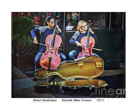Street Musicians by Donald Yenson