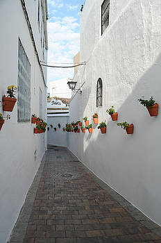 Street Of Benalmadena Pueblo by Tetyana Kokhanets