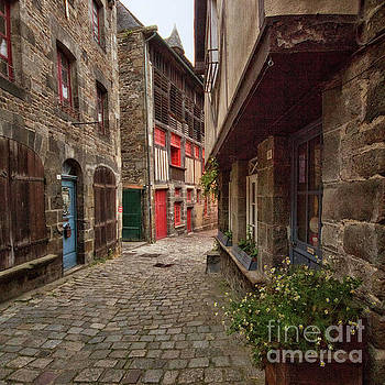 Street of Dinan by Dominique Guillaume